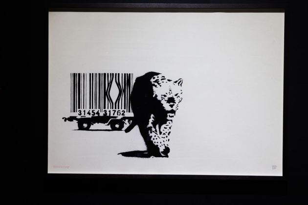 Banksy, Barcode. Courtesy Sold Out