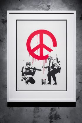 Banksy, CND Soldiers. Courtesy Sold Out