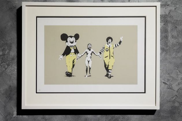 Banksy, Napalm. Courtesy Sold Out
