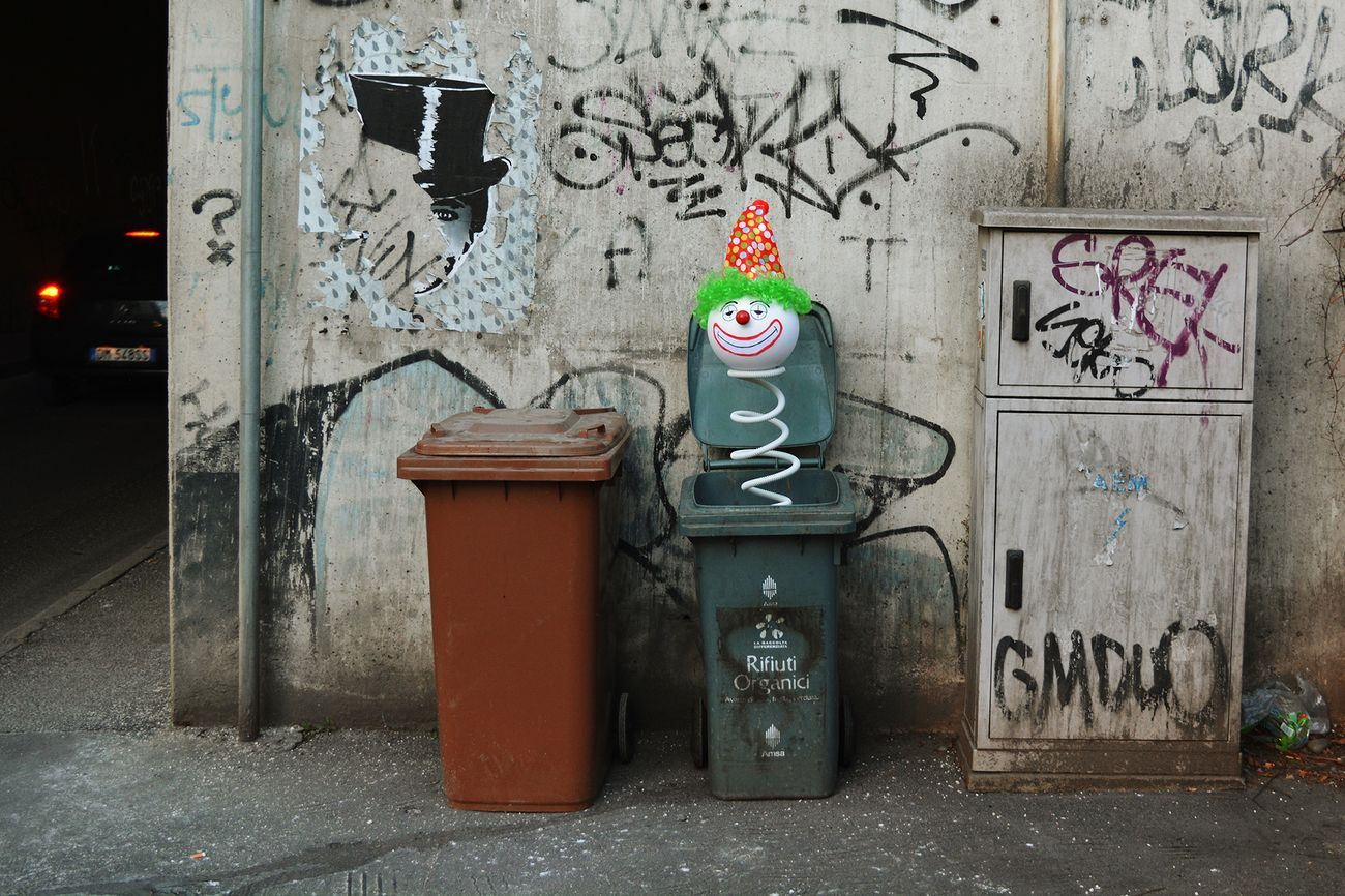 Biancoshock, Jack in the trash box, Milano, 2017