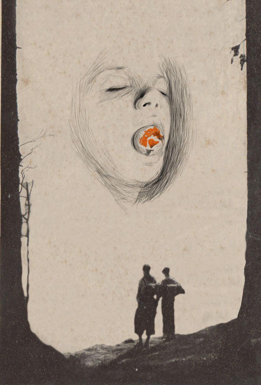 Daniele Franzella, Compendio della notte, 2018 (particolare). Courtesy RizzutoGallery, Palermo. Exhibition view at Casa del Mutilato, Palermo 2018. Photo Anabasi