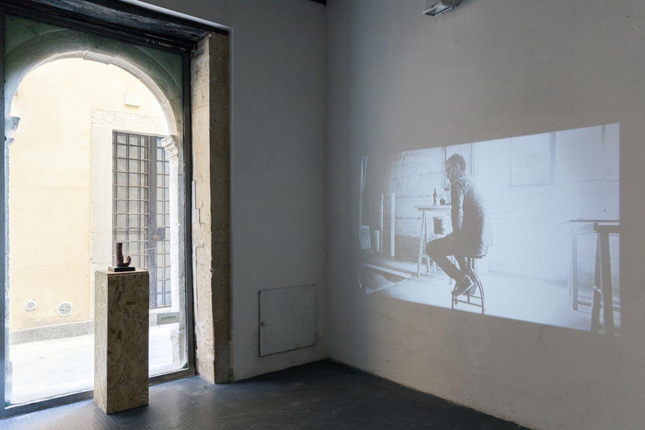 Danilo Torre, Peripheral Vision, 2018. Exhibition view at Ex Museo del Cinema, Spazio AmMare, Siracusa 2018. Photo Maria Vittoria Trovato