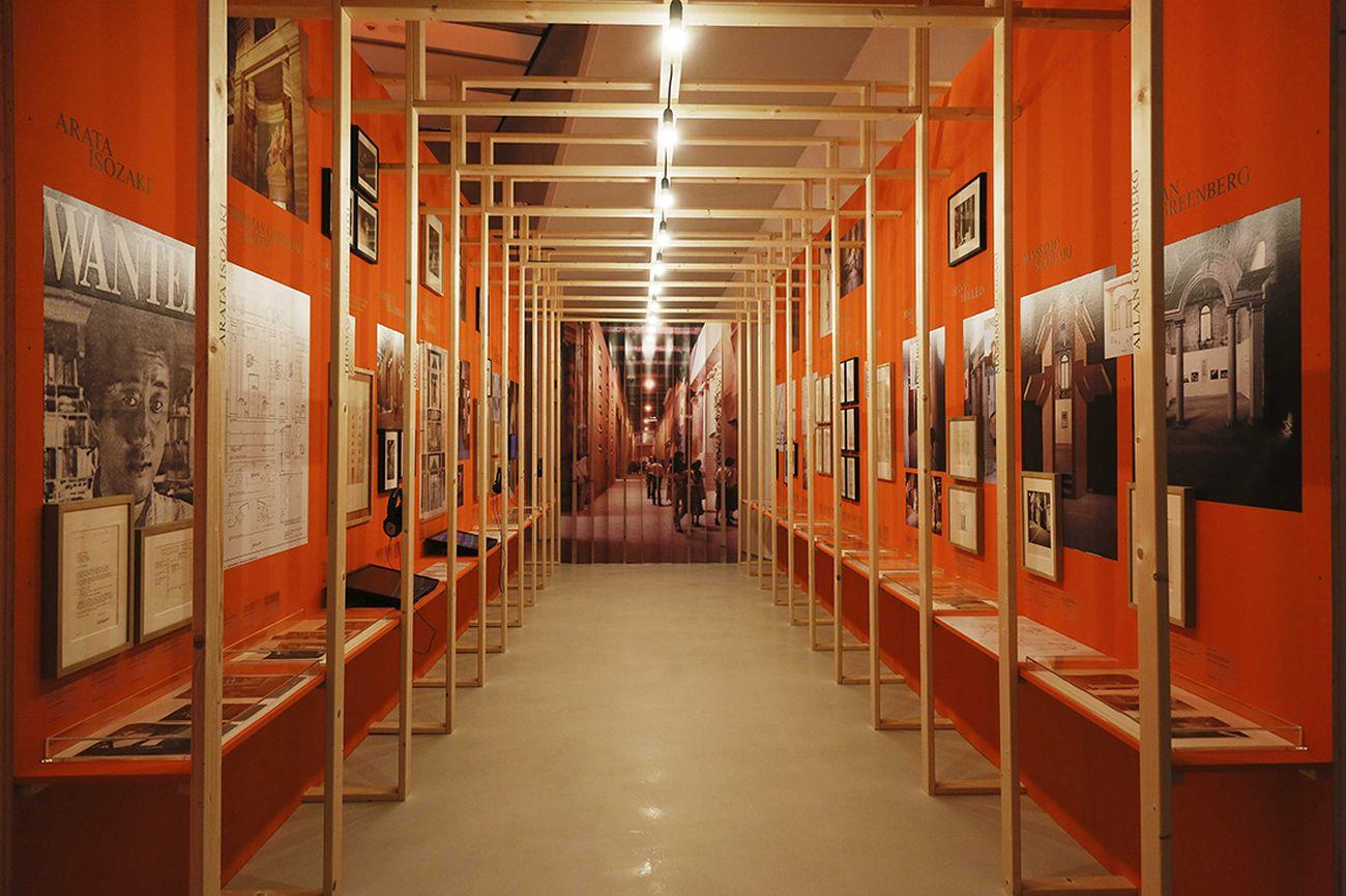 Dentro la Strada Novissima. Installation view at MAXXI, Roma 2018. Photo Musacchio Ianniello. Courtesy Fondazione MAXXI