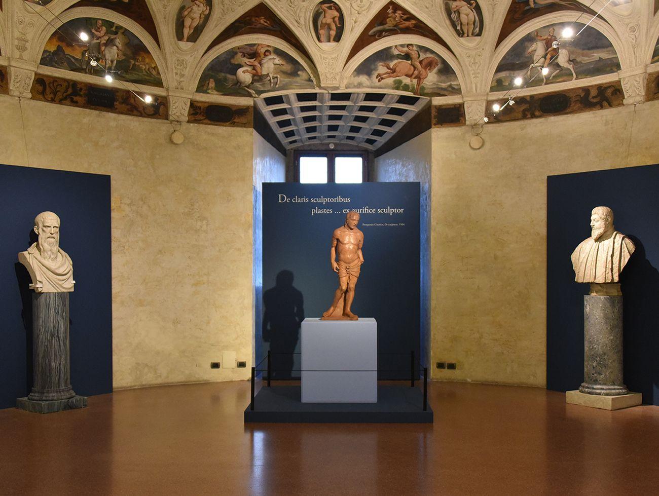 Di terra e di fuoco. Il San Sebastiano di Andrea Riccio. Exhibition view at Castello del Buonconsiglio, Trento 2018