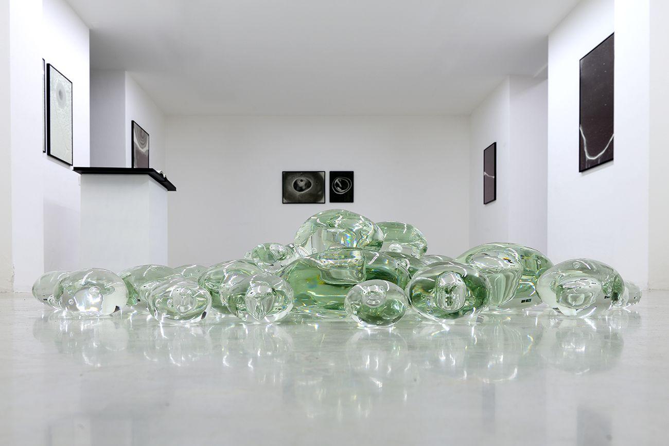 Giorgio Vigna. Acque Astrali. Exhibition view at Studio la Città, Verona 2018. Photo Michele Alberto Sereni