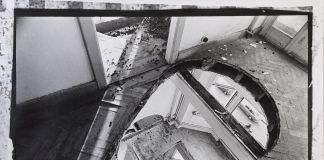 Gordon Matta-Clark, Office Baroque, 1977. Courtesy Harold Berg