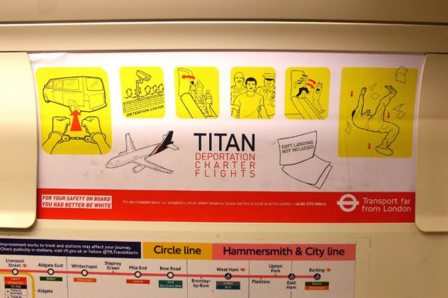 Hogre, Titan airline's, Hammersmith & City line, London, 2018