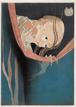 Kohada Koheiji from One Hundred Ghost Tales. Colour woodblock, 1833. Purchase funded by the Theresia Gerda Buch bequest in memory of her parents Rudolph and Julie Buch © The Trustees of the British Museum