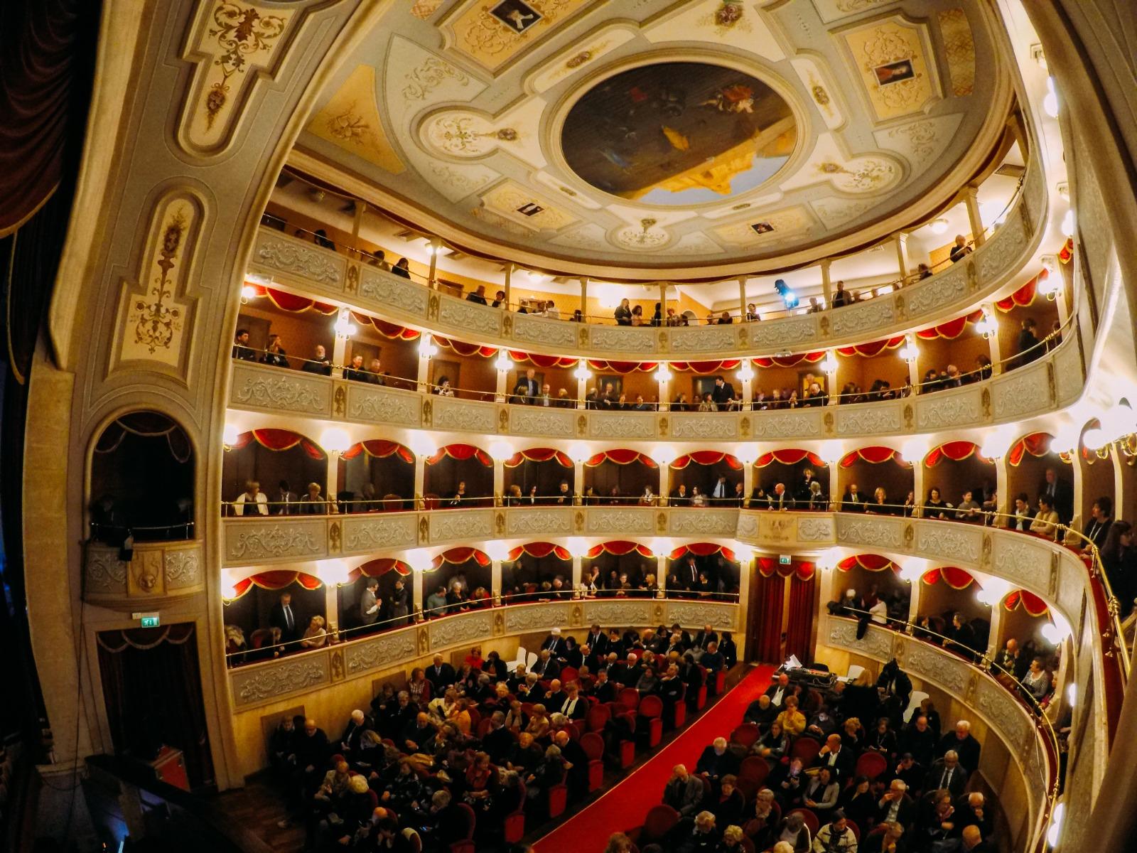 Il Teatro Garibaldi di Modica. Ph. Fondazione Teatro Garibaldi