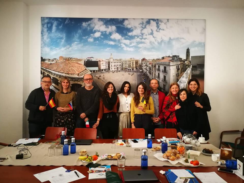 Increa Project in Spagna, gennaio 2019