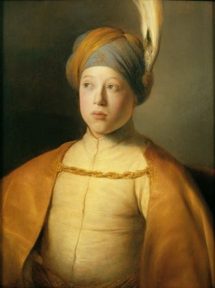 Jan Lievens, Boy in a Cape and Turban (Portrait of Prince Rupert of the Palatinate), ca. 1631 © The Leiden Collection, New York