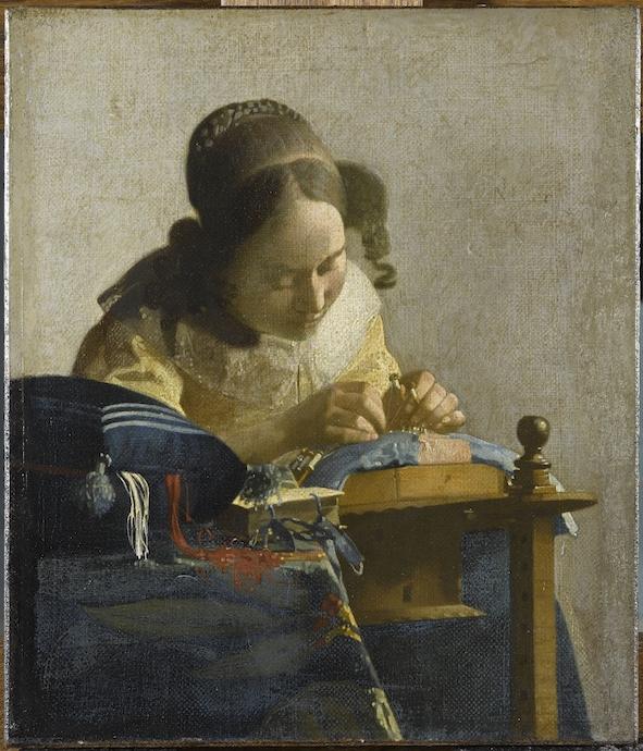 Vermeer Johannes (1632-1675). Paris, musée du Louvre