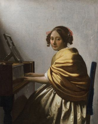 Johannes Vermeer, Young Woman Seated at a Virginal, ca. 1670 72 © The Leiden Collection, New York
