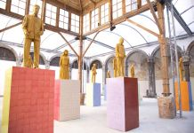 Liu Jianhua. Monumenti. Exhibition view at Made in Cloister, Napoli 2018. Photo Maurizio De Nisi