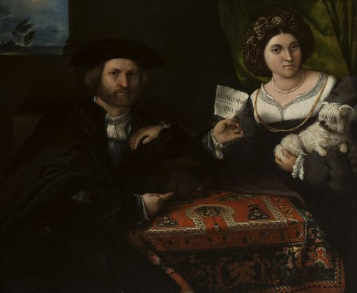 Lorenzo Lotto, Portrait of a Married Couple, 1523–4, The State Hermitage Museum, St Petersburg © The State Hermitage Museum, 2017 Photo Vladimir Terebenin