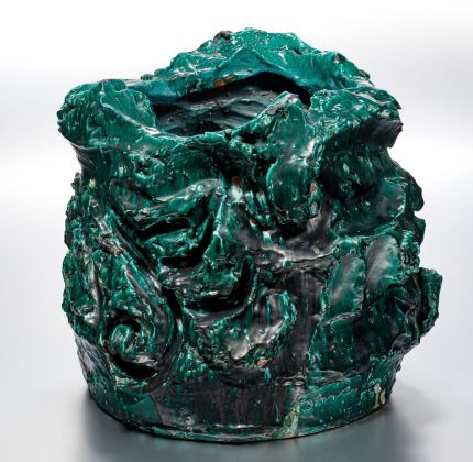 Lucio Fontana, Ceramica Spaziale, 1953. Bischofberger Collection, Männedorf, Switzerland © 2019 Fondazione Lucio Fontana Artists Rights Society (ARS), New York SIAE, Roma