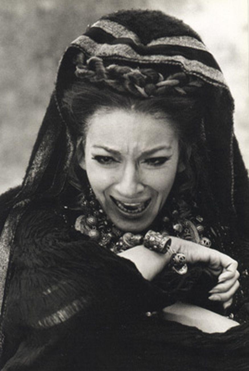 Maria Callas in Medea (Pier Paolo Pasolini, 1970)