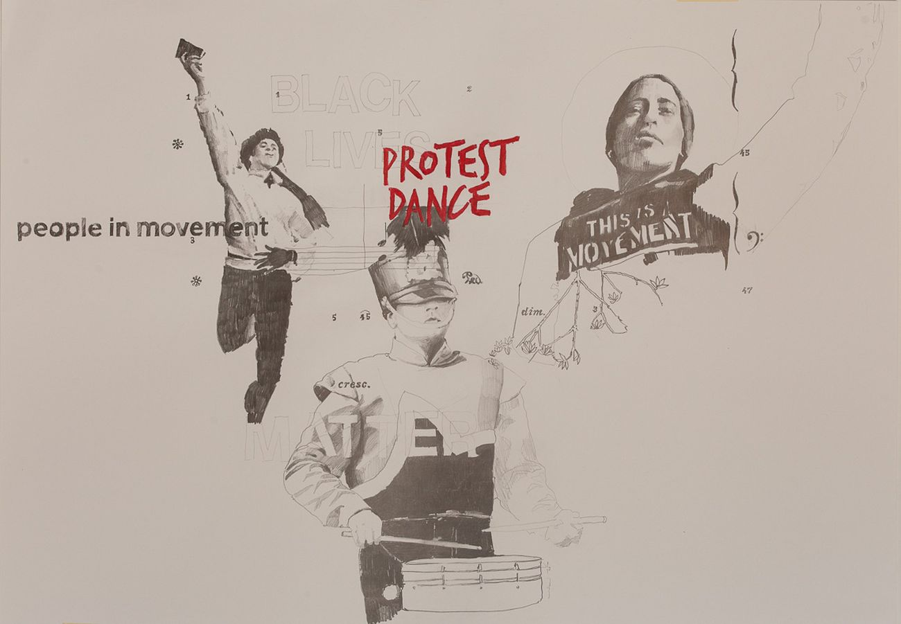 Marinella Senatore, Protest dance, 2016, courtesy the artist and Laveronica Arte Contemporanea