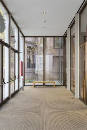 Morgan Library of New York, foto di Giovanna Silva dei quattro edifici in mostra. Courtesy la Triennale di Milano