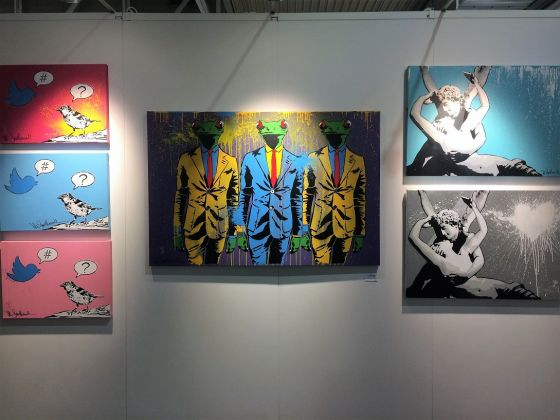 Mr. Savethewall da Deodato Arte/ Affordable Art Fair