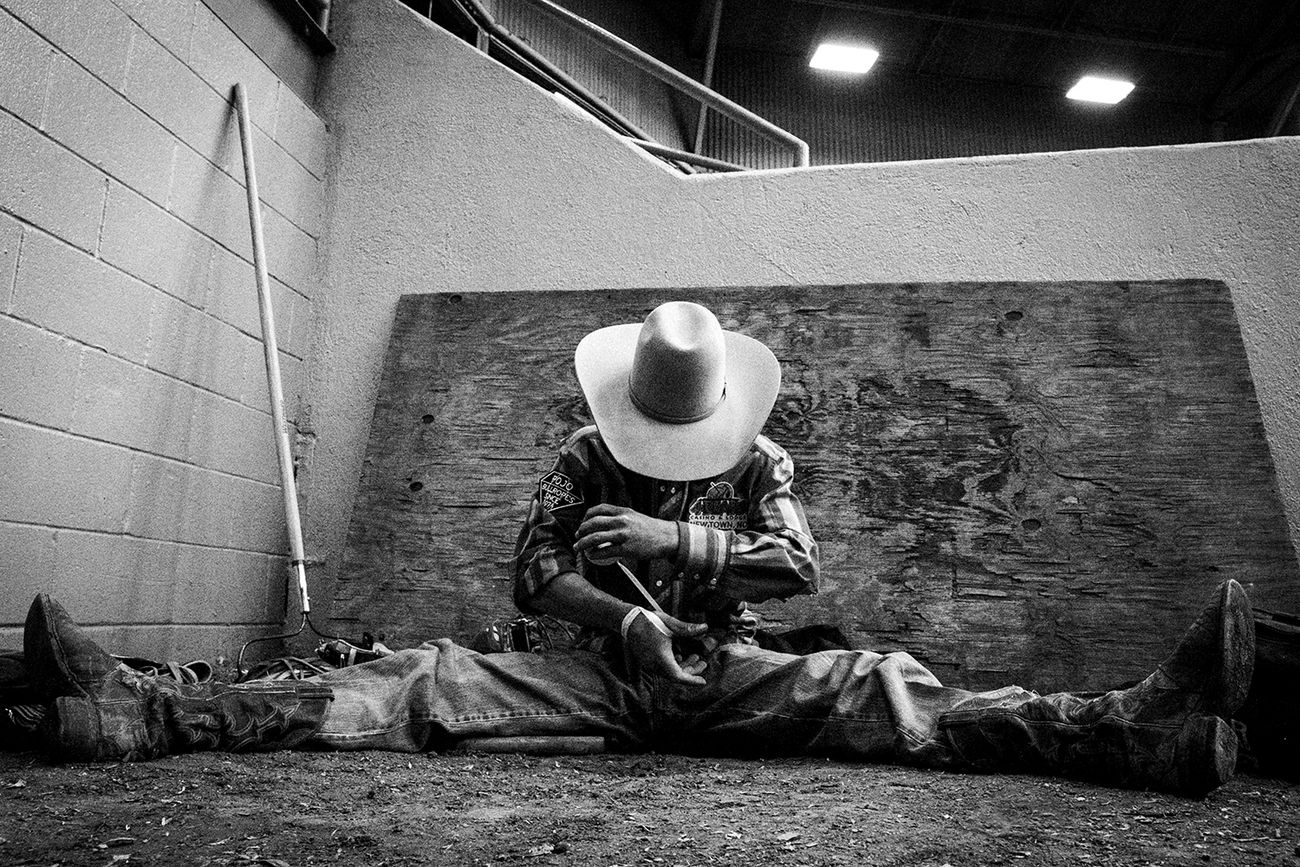 Nick Tauro Jr., Rodeo Nights, New Mexico State Fair. Courtesy Magazzini Fotografici, Napoli