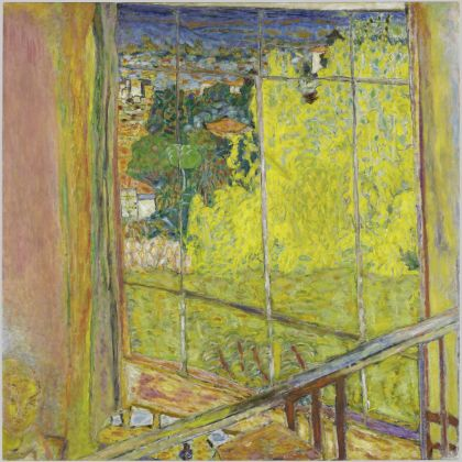 Pierre Bonnard, L'atelier au mimosa, 1939-46, Musée National d'Art Moderne Centre Pompidou (Paris, France) Photo © Centre Pompidou, MNAM CCI, Dist. RMN Grand Palais