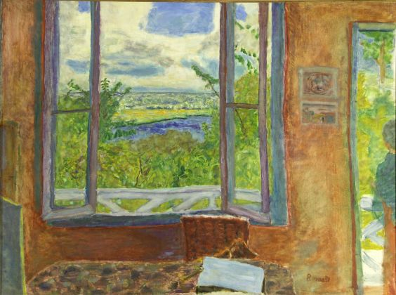 Pierre Bonnard, Window Open on the Seine Vernon, 1911-12, Ville de Nice Musée des Beaux Arts Jules Chéret Photo Muriel Anssens