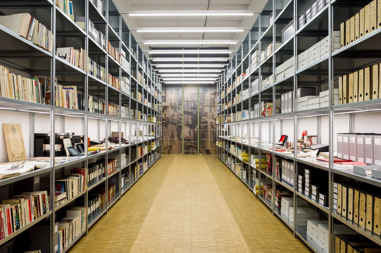 Prospettiva. Installation view at La Triennale di Milano, 2018. Courtesy Archivio Fondazione Fiera Milano. Photo Andrea Centonze