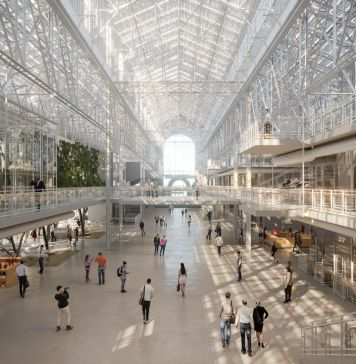 RPBW – Renzo Piano Building Workshop con APEX Project Bureau, GES2 project, Mosca © RPBW