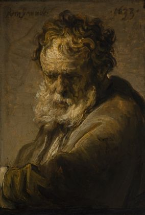 Rembrandt van Rijn, Bust of a Bearded Old Man, 1633 © The Leiden Collection, New York
