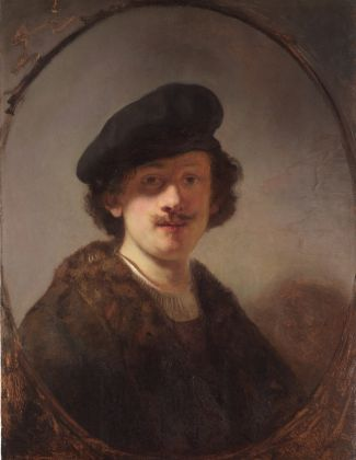 Rembrandt van Rijn, Self Portrait with Shaded Eyes, 1634 © The Leiden Collection, New York