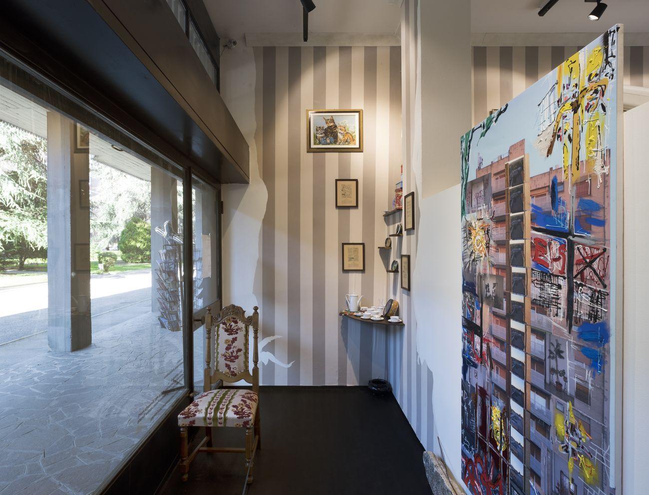 Ritratto di Famiglia. Installation view at spazio X, Milano 2018