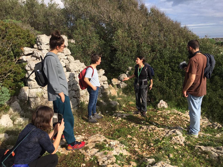 Sessione di lavoro presso il sentiero del Ciolo, foto credits Claudio Zecchi