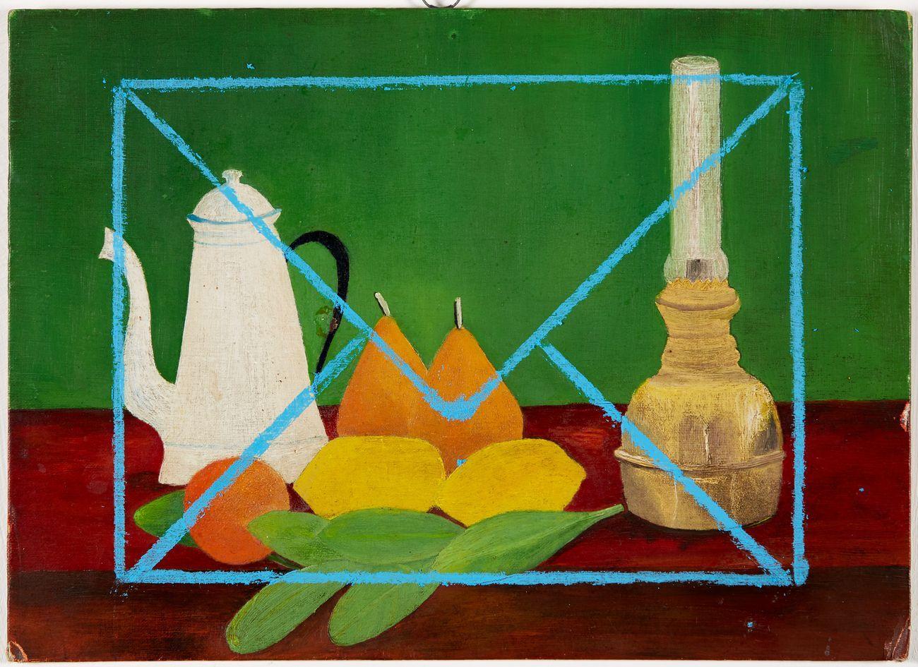 Sofia Silva Lettera A After Henri Rousseau 2007 17 Oil And