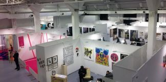 Stand di Affordable Art Fair