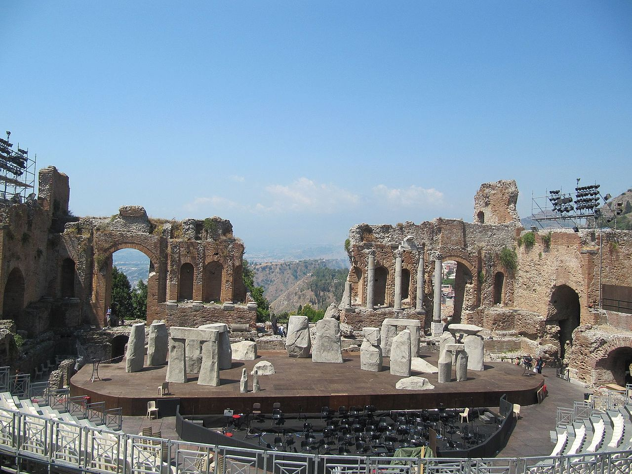 Taormina,Teatro Greco, ph. Wikimedia commons
