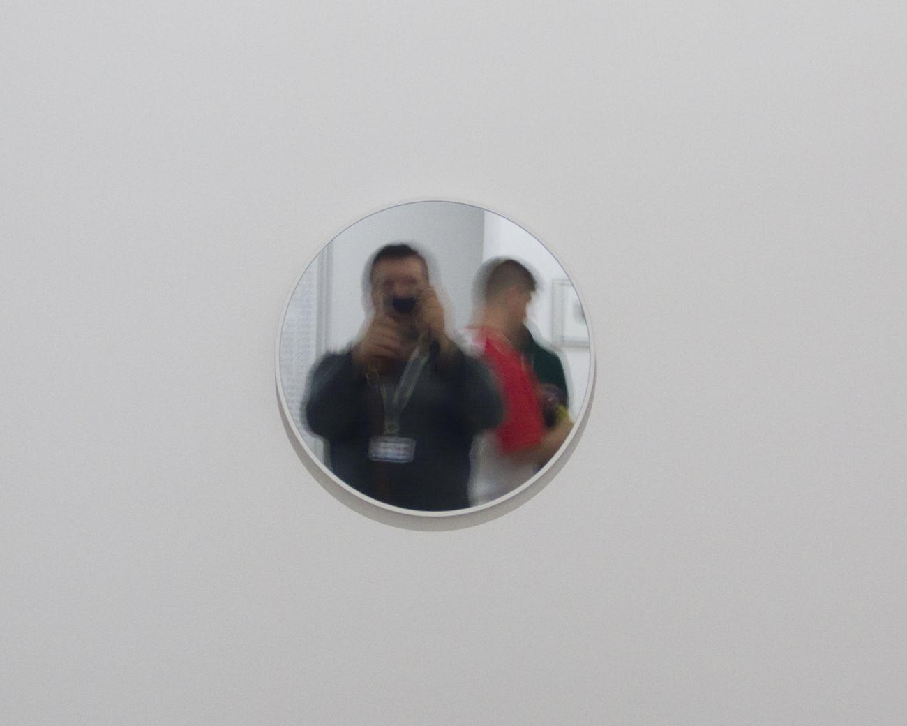 Vedovamazzei, Short signed mirror, 2004