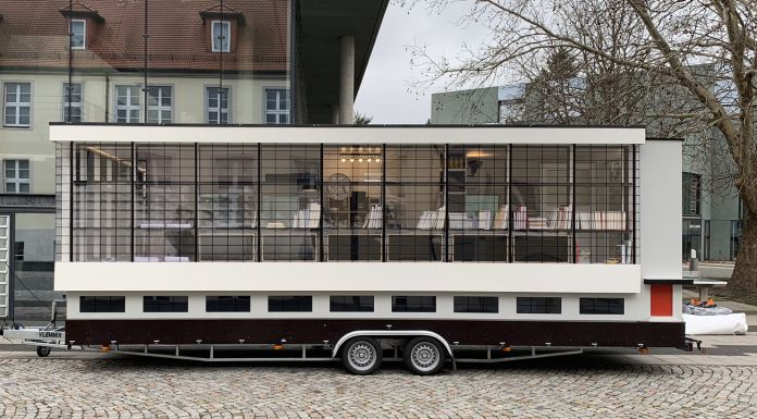 Wohnmaschine by Van Bo Le–Mentzel, Spinning Triangles, Dessau © CC BY SA Tinyhouse University