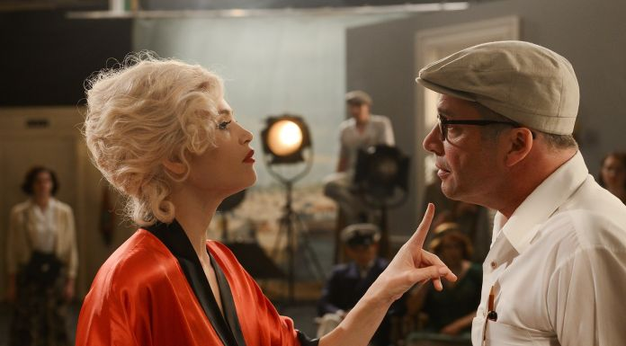 """Urban Myths - A knockabout comedy based on the true story of Marilyn Monroe, America's sweetheart, struggling on the set of """"Some Like it Hot"""". Marilyn gets particularly stuck on the line """"It's me, Sugar"""" leaving Billy Wilder tearing his hair out and Tony Curtis and Jack Lemmon making side-bets"""