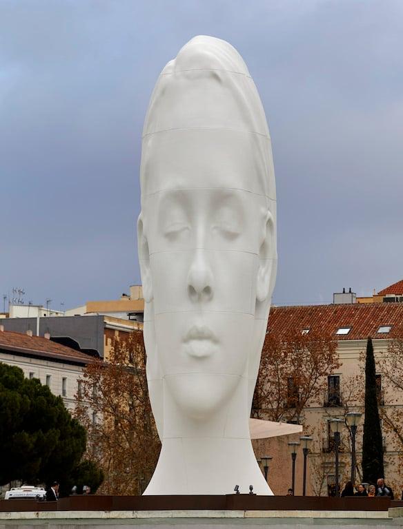 Julia, de Jaume Plensa. Foto Joaquín Cortés