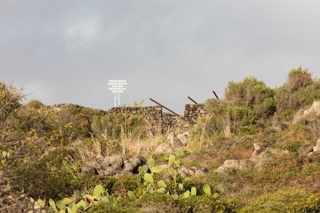 La collina di Loredana, Pantelleria