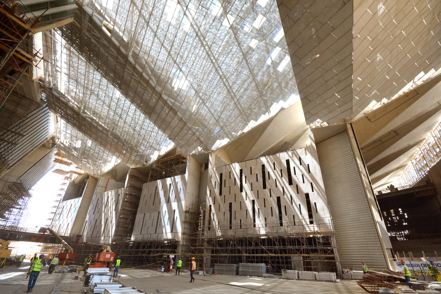 1.Grand Egyptian Museum. Courtesy GEM