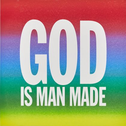 John Giorno GOD IS MAN MADE 2015