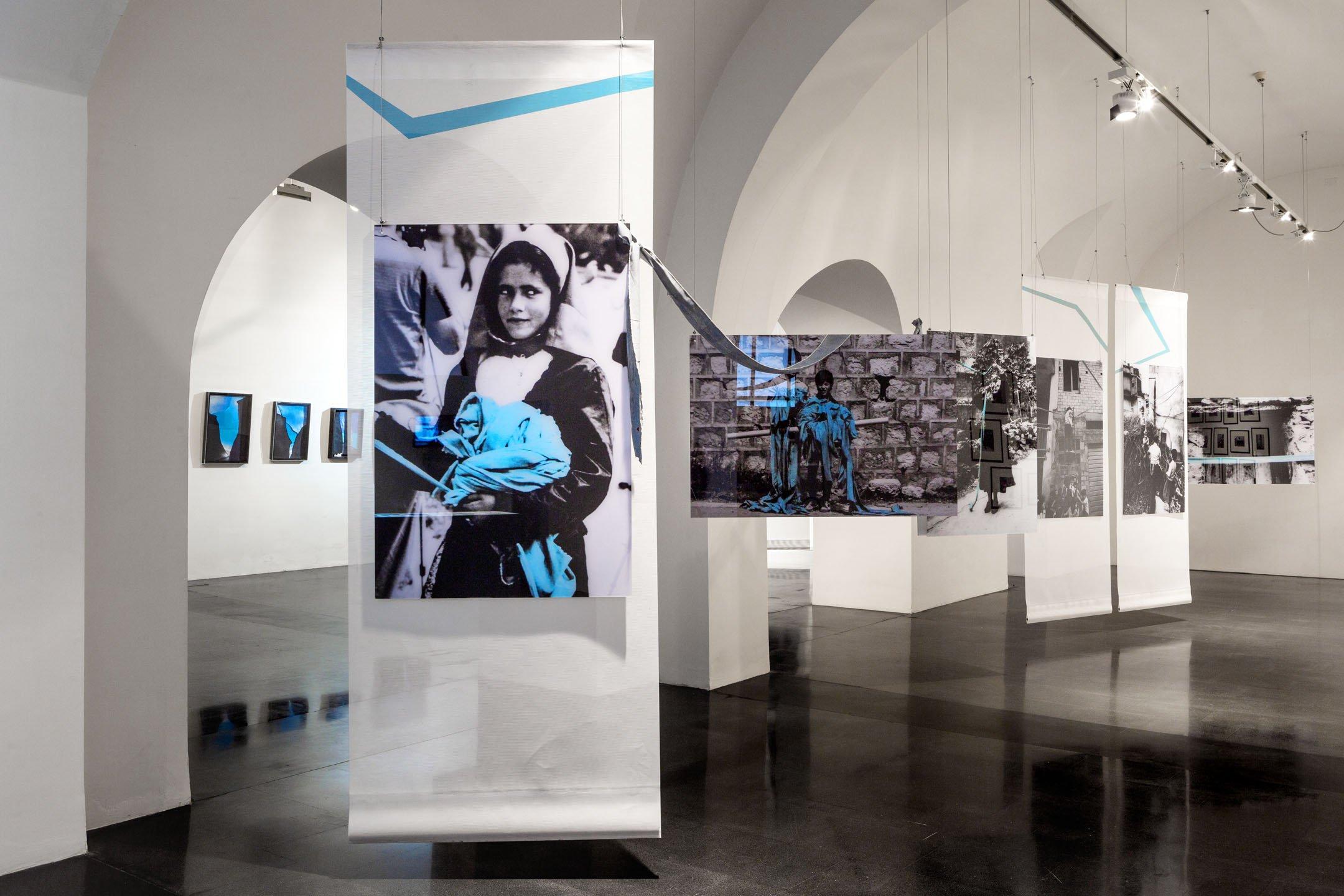 Veduta allestimento mostra_Maria Lai. Art in Public Space. Foto di Tiziano Canu