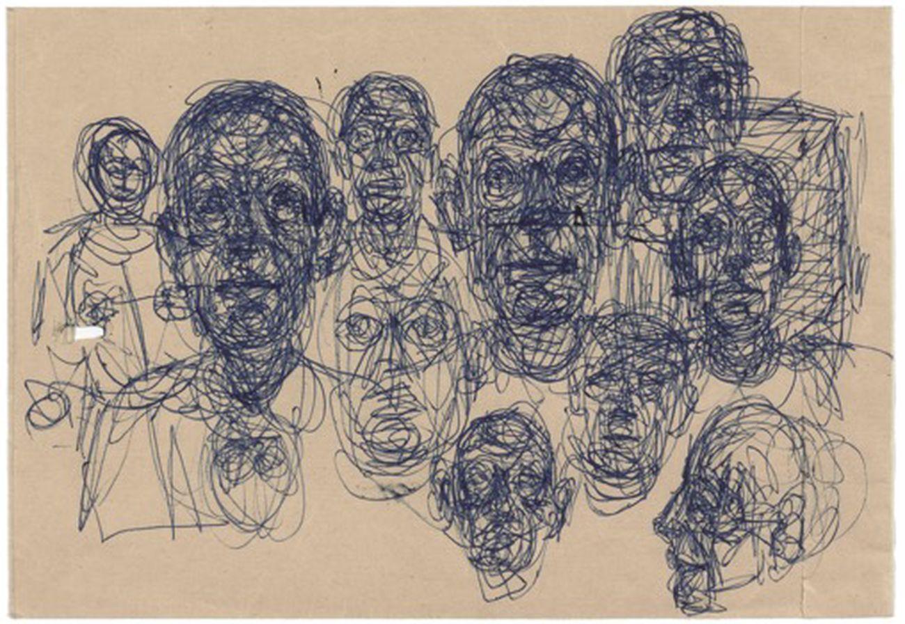 Alberto Giacometti, Têtes, post 1950. Fondation Giacometti, Paris © Succession Alberto Giacometti (Fondation Giacometti, Paris + ADAGP, Paris) 2019