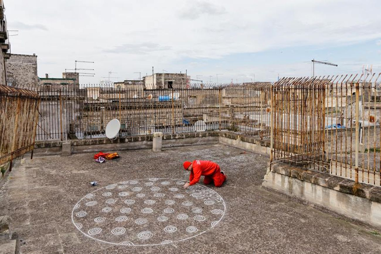Alessandro Bulgini, Decoro urbano, Taranto, 2015