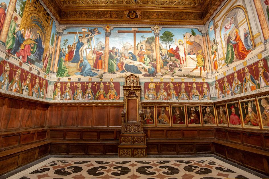 Sala Capitolare della cattedrale di Toledo