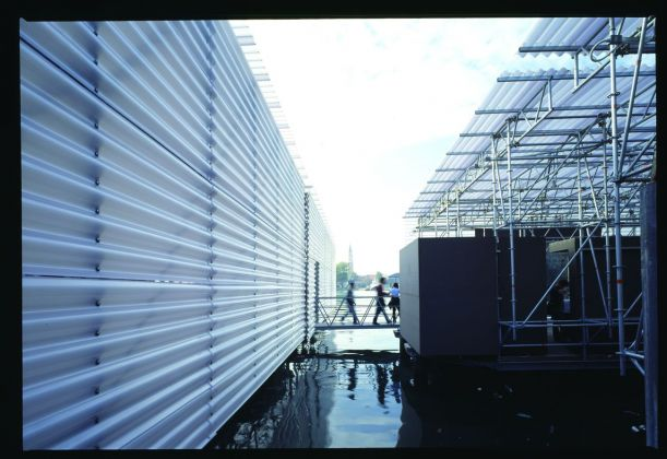Cecchetto & Associati, The Floating Pavilion, IX Biennale di Architettura di Venezia, 2004. Photo credits Fulvio Orsenigo