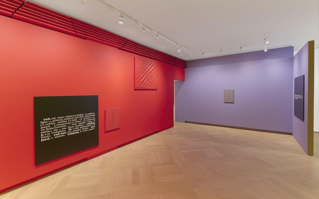 Colour in Contextual Play. Installation view at Mazzoleni, Londra 2017. Courtesy Mazzoleni, Londra-Torino