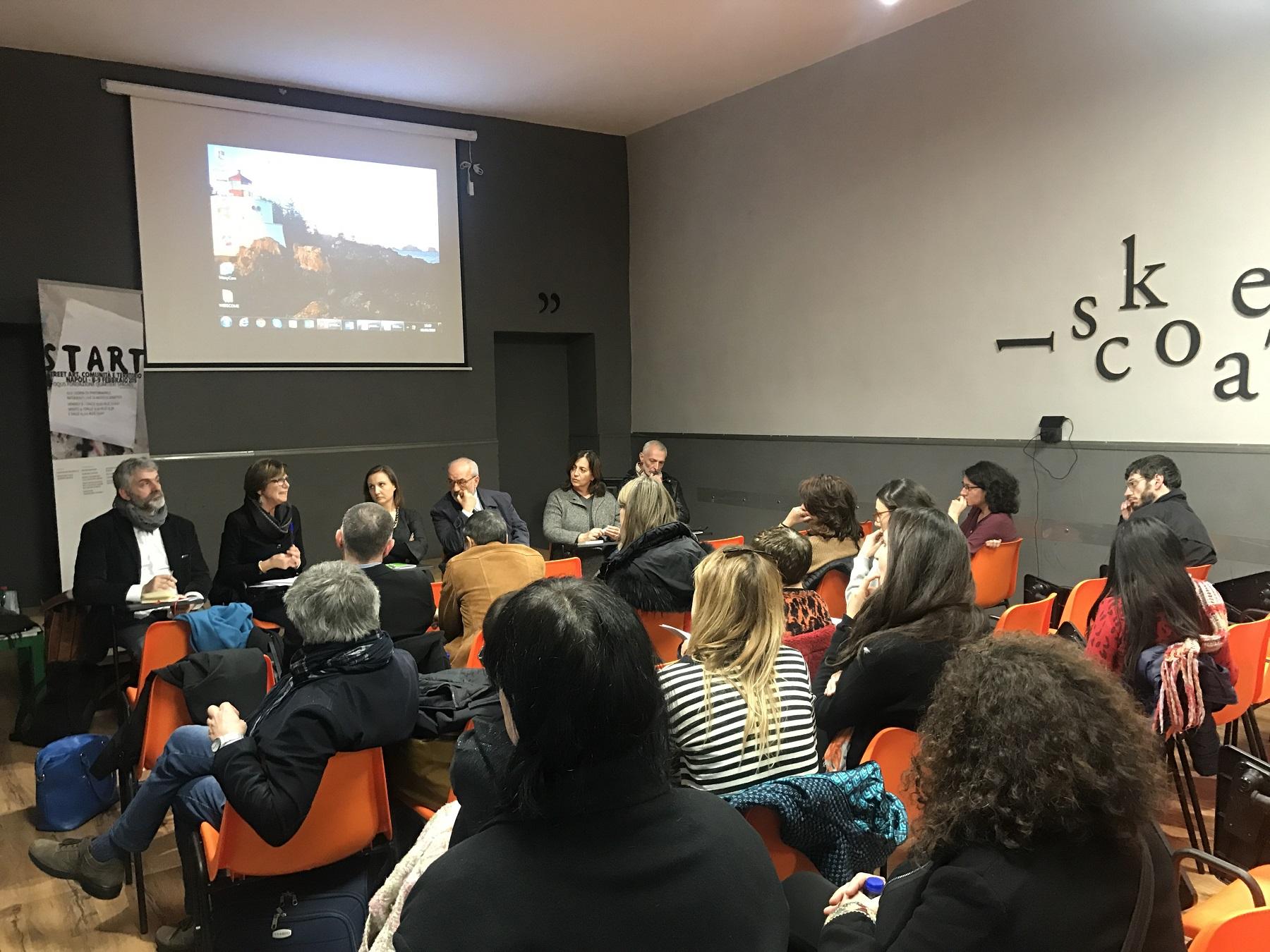 Dibattiti sulla Street Art alla Fondazione Foqus, febbraio 2019